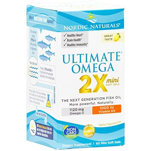 Ultimate Omega 2x Mini with Vitamin D3