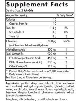 Omega Blood Sugar
